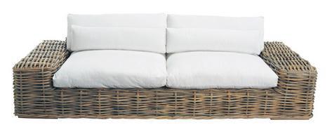 rattansofa st tropez. Black Bedroom Furniture Sets. Home Design Ideas